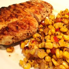 Keeping it simple: Seasoned Grilled Chicken with veggies