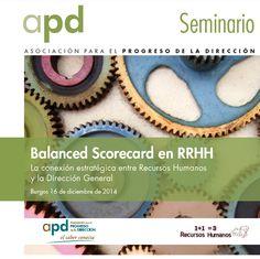 El próximo 16 de Diciembre celebraremos en Burgos un Seminario donde aprenderemos a entender qué es un Cuadro de Mando Integral y su aplicación práctica en RRHH.  En este seminario contaremos con la presencia de Ángel Aledo, Consultor de 1+1=3 Recursos Humanos.  http://www.apd.es/Inicio/Actividad.aspx?i=S140130