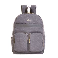 Tina Laptop Backpack - Dusty Grey Combo | Kipling