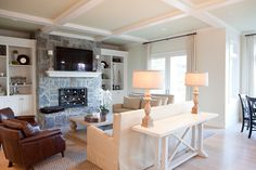 Family Room - traditional - family room - portland - Jenny Baines, Jennifer Baines Interiors
