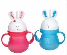 Bunny Sippy Cups #EasterBasket #Toddler