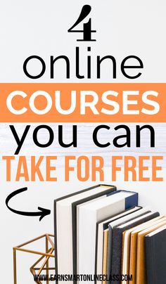 Free Online Courses Perfect For Beginners Are you new online and don't know where to start. Grab these Free Online Courses Perfect for Beginners and jump-start your work-at-home career. Online Jobs From Home, Work From Home Jobs, Online Work, Best Online Courses, Free Courses, Free Classes Online, Online Coding Courses, Free College Courses Online, Ebooks Online