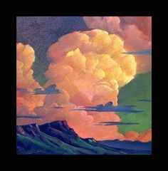 how to paint colorful clouds - Google Search