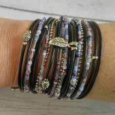 Leder Armband für Frauen / / Boho Wrap Armband / / von DesignsbyNoa