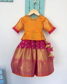Image may contain: people standing Kids Dress Wear, Kids Gown, Dresses Kids Girl, Kids Wear, Kids Outfits, Baby Girl Lehenga, Kids Lehenga, Kids Indian Wear, Kids Ethnic Wear