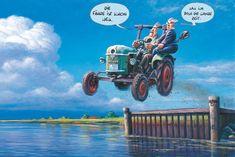 Landtechnik-MARUNDE | Cartoons & Illustrationen von Wolf-Rüdiger Marunde