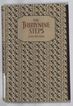 The Thirty Nine Steps  by John Buchan  (1964 edition)  Cover by Edward Ardizzone