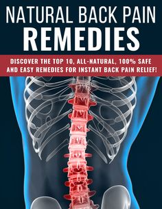 """Check out this cool ebook I found: Check out """"Natural Back Pain Remedies: Get Instant Relief"""" ebook. Discover how you can quickly eliminate back pain without any costly medication. #backpain #naturalremedy #herbalcure #cure #backpainrelief Anti Inflammatory Drink, Back Pain Remedies, Relieve Back Pain, Female Hormones, Back Pain Relief, Weight Loss Supplements, Health Motivation, Weight Loss Transformation, Natural Remedies"""