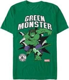 MLB Boston Red Sox Hulk Green Monster T-Shirt