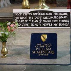 565. SHAKESPEARE'S GRAVE