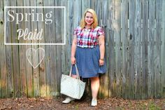 The funnest looks for spring on XoXoB.com! #fashion #plaid #skirts #springfashion