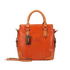 Michael Kors Grayson Crossbody Orange