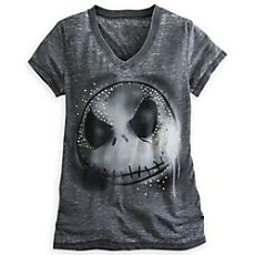 Jack Skellington Studded Tee *totally getting a makeup idea from the studded part on this shirt. Jack The Pumpkin King, Disney Outfits, Disney Clothes, Emo Clothes, Sally Nightmare Before Christmas, Cooler Look, Jack And Sally, Tees For Women, Disney Merchandise