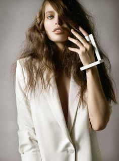'Oda al Blanco' Emily DiDonato by by Jean-François Campos for Vogue Latin America