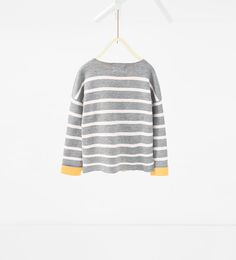 Striped sweater-SWEATERS AND CARDIGANS-GIRL | 4-14 years-KIDS | ZARA United States