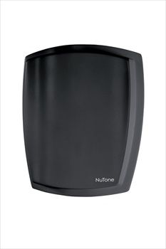 NuTone LA317BL Black Finish, Two-note wired door chime @ $34.08 The LA317BL is a simple, black finished door chime that is sleek and simple yet elegant. One of the few black door chimes available.