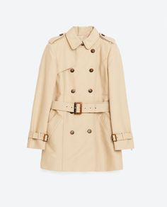 WATER RESISTANT TRENCH COAT - View all-OUTERWEAR-WOMAN | ZARA United States
