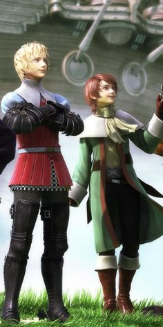 ingus and arc - final fantasy iii