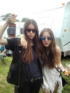 Alana and Danielle Haim