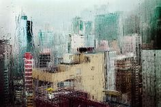 Hong-Kong in the Rain / Christophe Jacrot