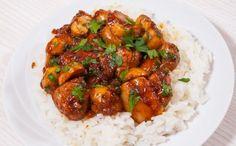 Greek mushrooms easy and fast - Landlikes Sites Gluten Free Recipes, Vegan Recipes, Joy Of Cooking, Mushroom Recipes, Chana Masala, Entrees, Stuffed Mushrooms, Curry, Good Food