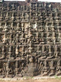 ✮ Leper King Terrace, Angkor, Cambodia