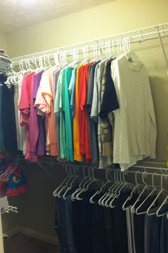 My Home Life Story: How To DIY Organize Your Walk In Closet On A Budget