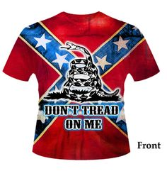 Don't Tread On Me Rebel Flag T Shirt, $20.95 (http://www.southernsistersdesigns.com/all-over-print-dont-tread-on-me-rebel-flag-t-shirt/)