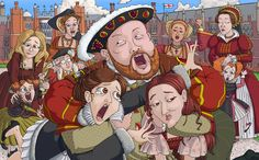 LOL!!  This is awesome!  The Tudors, one big, messed up dysfunctional family.