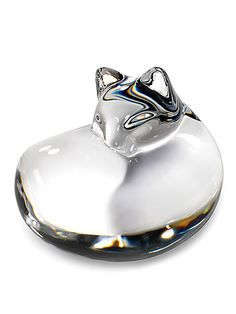 Steuben Cat Hand Cooler Paperweight Corning Museum Of Glass, Glass Museum, American Craftsman, Glass Animals, Paper Weights, Online Boutiques, Creative Design, Cool Stuff, Stuff To Buy