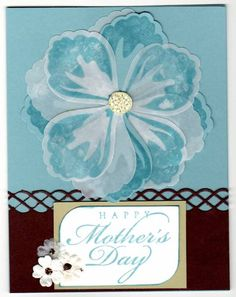 Mother's Day Card by heatherstamper - Cards and Paper Crafts at Splitcoaststampers