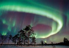 Europes best winter destinations. Northern Lights in Norway