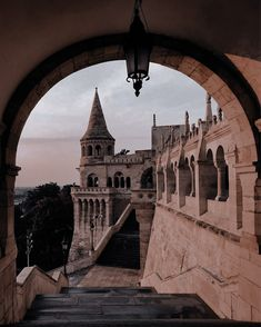 The Halászbástya or Fisherman's Bastion is one of the best known monuments in Budapest, located in the Buda Castle, in the 1st district of Budapest.