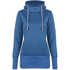 Womens Pullover Fleece Long Sleeve Stylish Sweatshirt Hoodie -- Check out the image by visiting the link. (This is an affiliate link and I receive a commission for the sales)