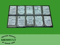 "Lot of 10 Assorted Brand SATA 40GB 2 5"" Hard Drives Tested Working 