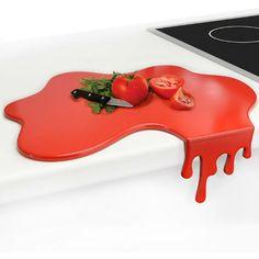 splash blood spill cutting board