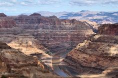 Took a flight to the Grand Canyon, then a helicopter flight to the bottom, a boat trip along the Colorado River, then another helicopter flight back up. Grand Canyon Tours, Grand Canyon Railway, Grand Canyon Arizona, Grand Canyon National Park, Rio Grande, Top 10 National Parks, Orlando, Canon, Visiting The Grand Canyon