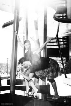 Bailarines: Anasma Vuong-Rajau y Arnaldo Iasorli