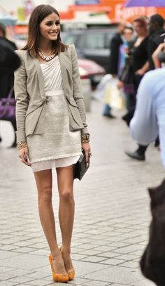 Olivia Palermo // Legs from Heaven //