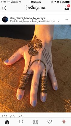 #Gorgeous #henna #lal_hatheli ❤️ #mehndi #pattern #bridalhenna #