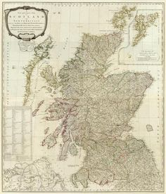 Robert Campbell - Composite: Scotland or North Britain, 1790 - Fine Art Print