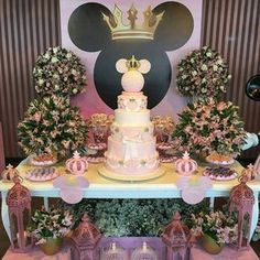 fiesta-de-minnie-mouse-rosa-34 - Decoracion de Fiestas Cumpleaños Bodas, Baby shower, Bautizo, Despedidas