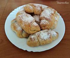 Plnené+rožteky+bez+kysnutia+(fotorecept) Bagel, Bread, Basket, Brot, Baking, Breads, Buns