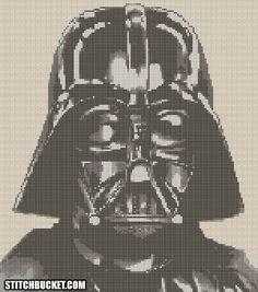 Darth Vader Star Wars Croix broderie par StitchBucket sur Etsy