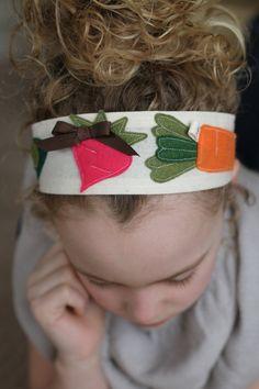 Grandpa's Garden Headband by letterbdesigns on Etsy