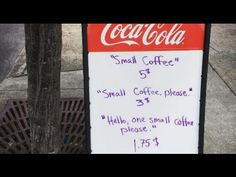 Please & thank you are such simple things but go so far to brighten someone's day & it's FREE to say so why not be polite when talking to somebody... Store Owner Is Sick Of Rude Customers, So He Puts Up A Sign As Revenge http://www.littlethings.com/roanoke-coffee-shop/?utm_source=spots&utm_medium=social&utm_campaign=shocking