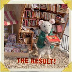Tutorial: Mini Books — The Mouse Mansion