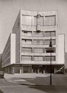 Haus des Deutschen Metallarbeiter-Verbandes, Kreuzberg, Berlin, Erich Mendelsohn/R. W. Reichel, 1929-30.