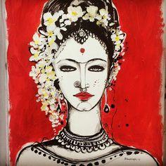 New Art Painting Oil People Canvases Ideas Star Wars Concept Art, Robot Concept Art, Canvas Art Projects, Indian Art Paintings, Unique Paintings, Art Photography Portrait, Canvas Art Quotes, Love Canvas, Indian Folk Art