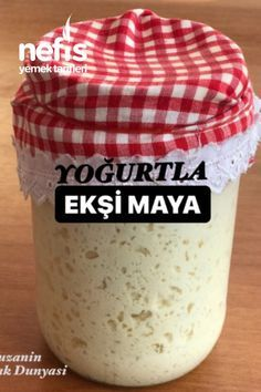 Kefir Yogurt, Party Fotos, Turkish Kitchen, How To Make Bread, Baking Ingredients, Food Design, No Bake Cake, Cookie Dough, Bakery